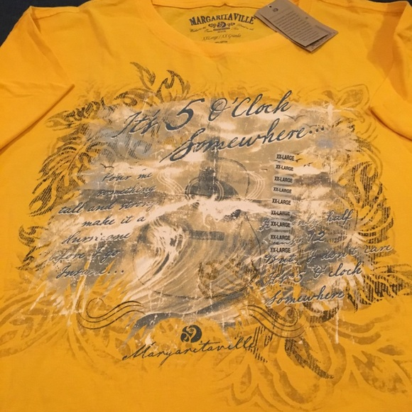 2ecde2a9 Margaritaville Shirts | Mens Xxl Its 5 Oclock Somewhere | Poshmark